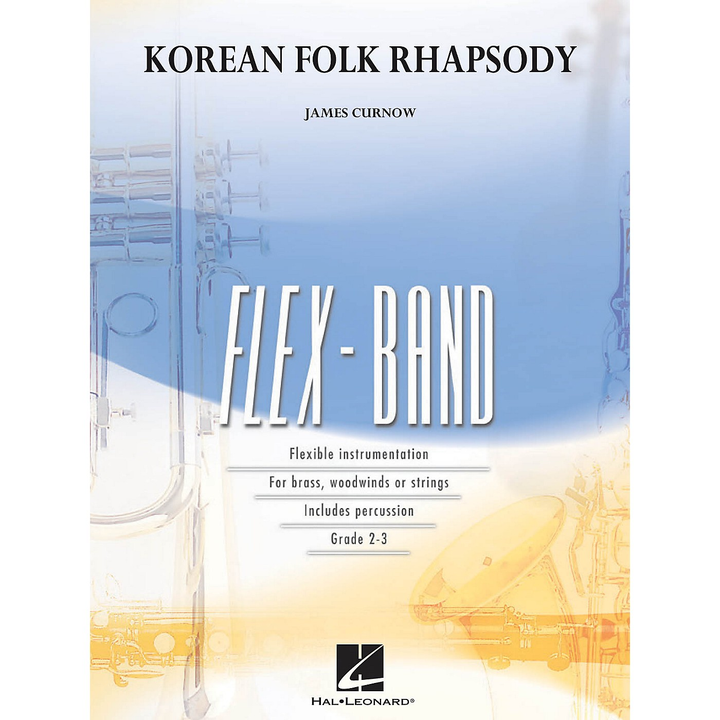 Hal Leonard Korean Folk Rhapsody Concert Band Level 2-3 Composed by James Curnow thumbnail