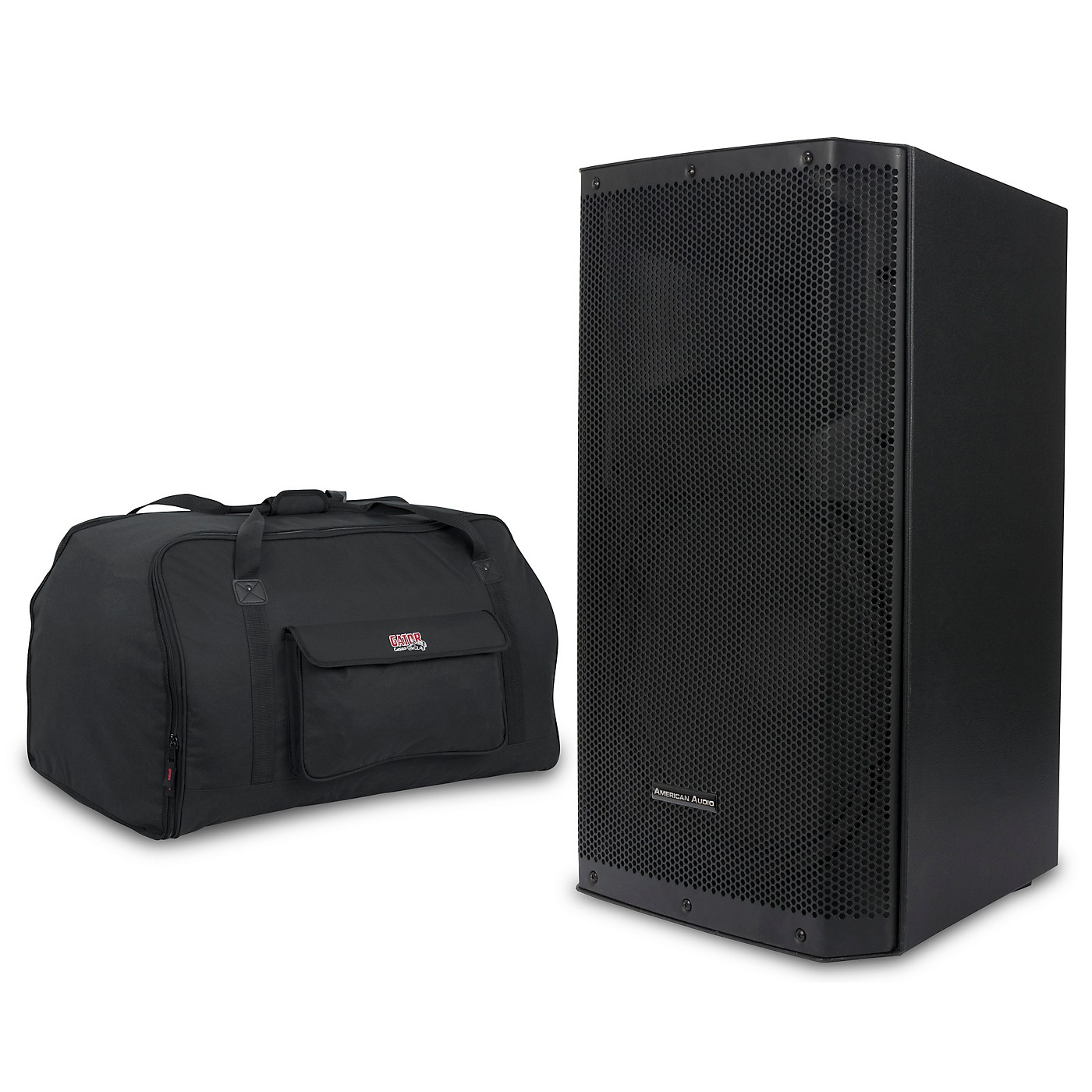 American Audio Kpow 15BT MK II 1,000W Powered Speaker with Tote thumbnail