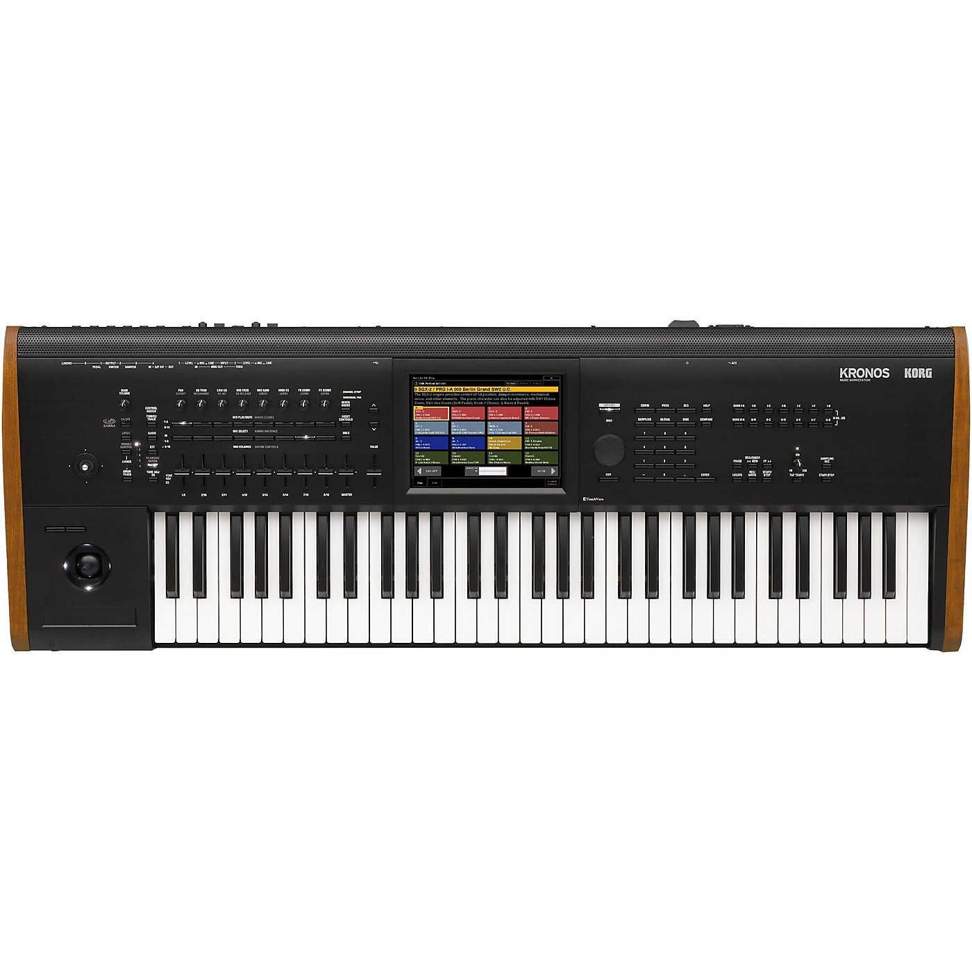 Korg Kronos 61-Key Synthesizer Workstation thumbnail