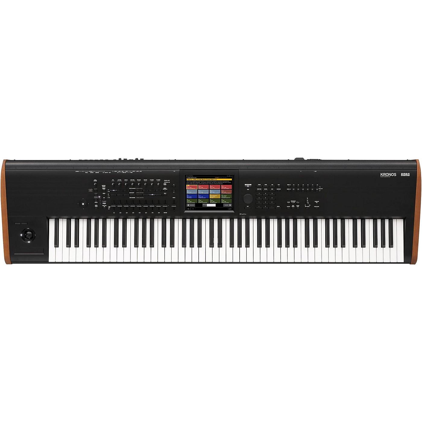 Korg Kronos 88-Key Synthesizer Workstation thumbnail