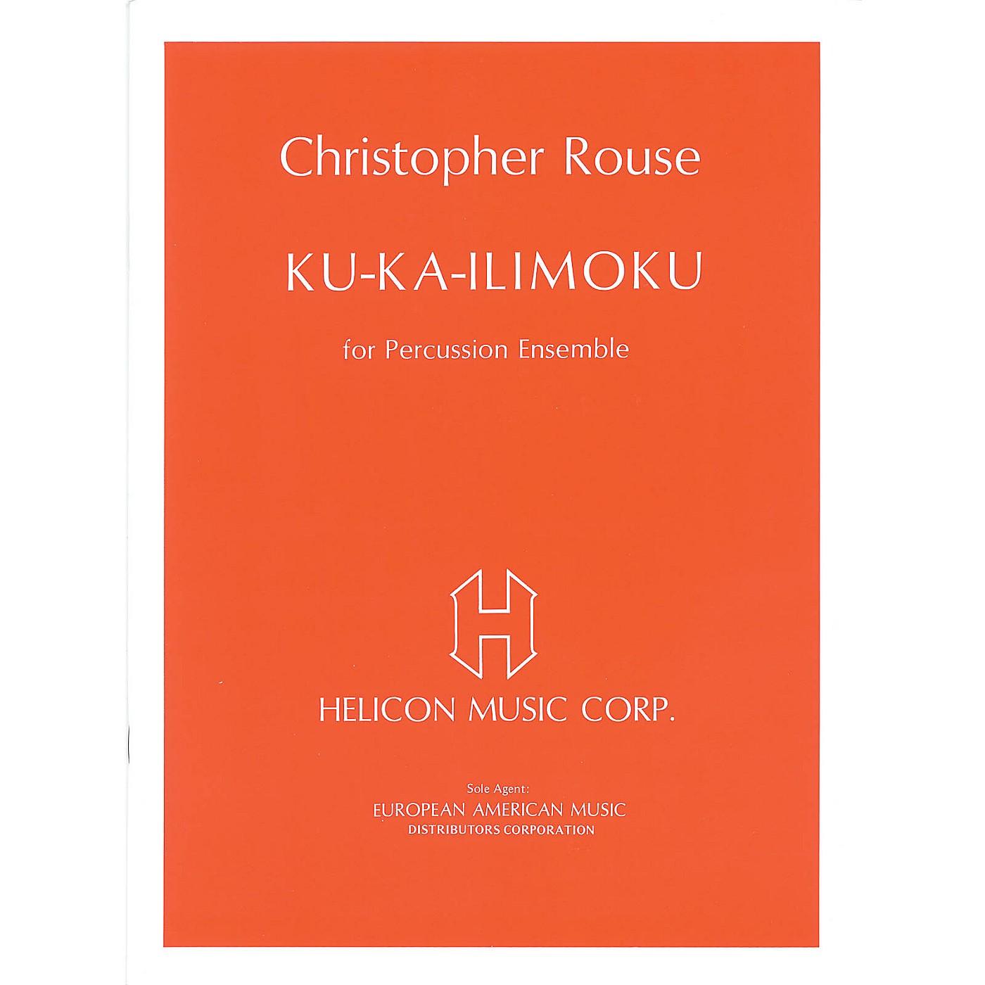Schott Ku Ka-Ilimoku (for Percussion Ensemble - Full Score and Parts) Schott Series Softcover thumbnail