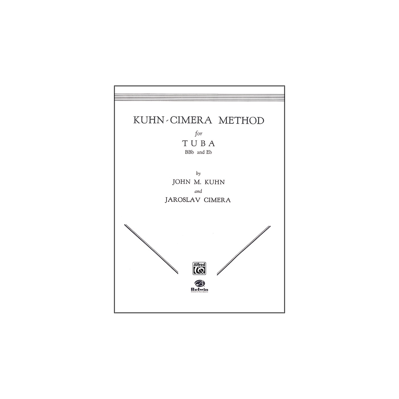 Alfred Kuhn-Cimera Method for Tuba Book I thumbnail