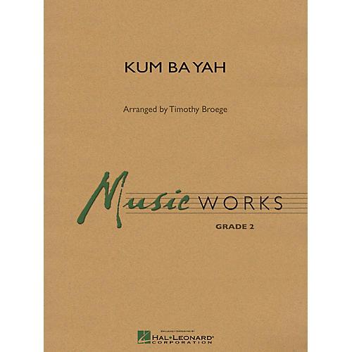 Hal Leonard Kum Ba Yah Concert Band Level 2 Arranged by Timothy Broege thumbnail