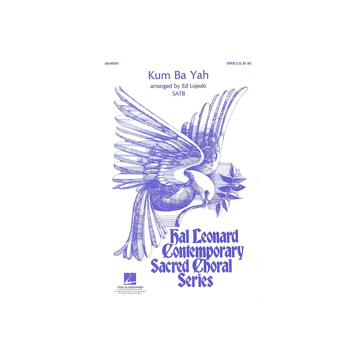 Hal Leonard Kum Ba Yah SATB arranged by Ed Lojeski thumbnail