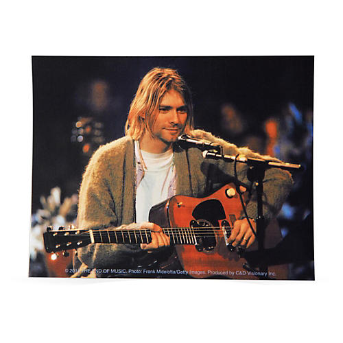 C&D Visionary Kurt Cobain Playing Sticker thumbnail
