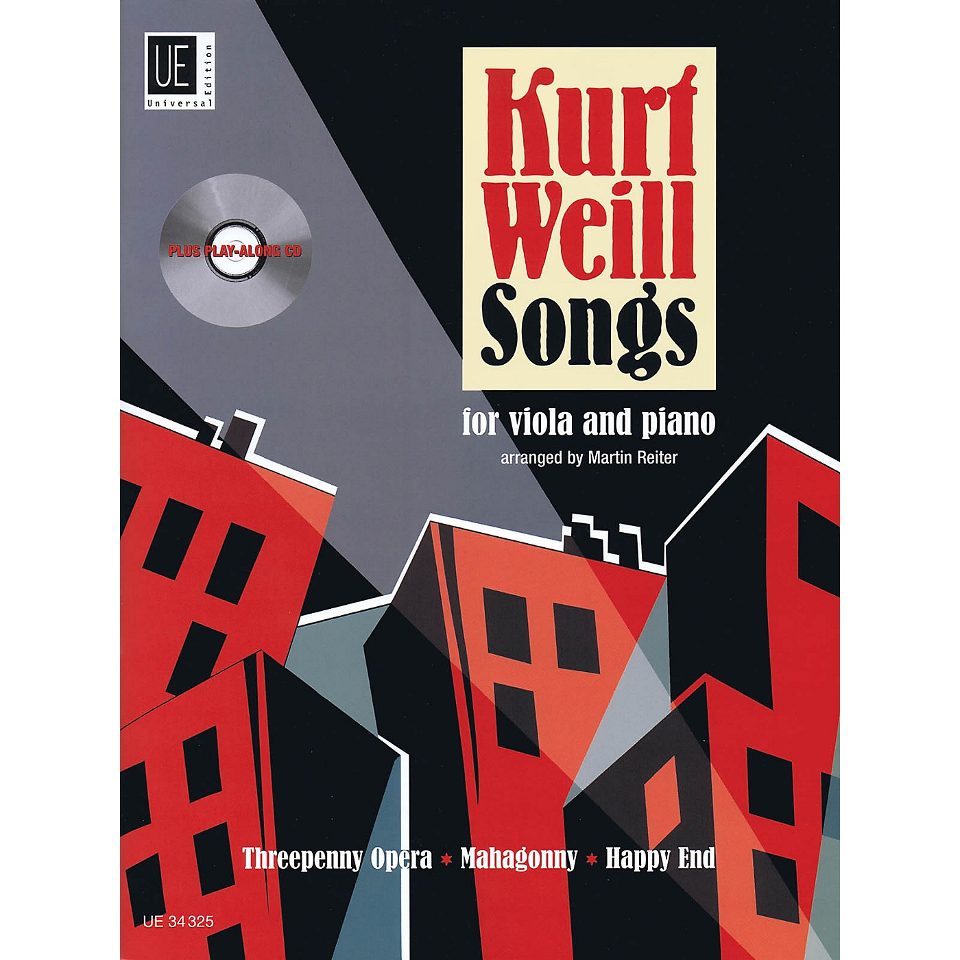 Universal Edition Kurt Weill Songs String Solo Series Softcover with CD thumbnail