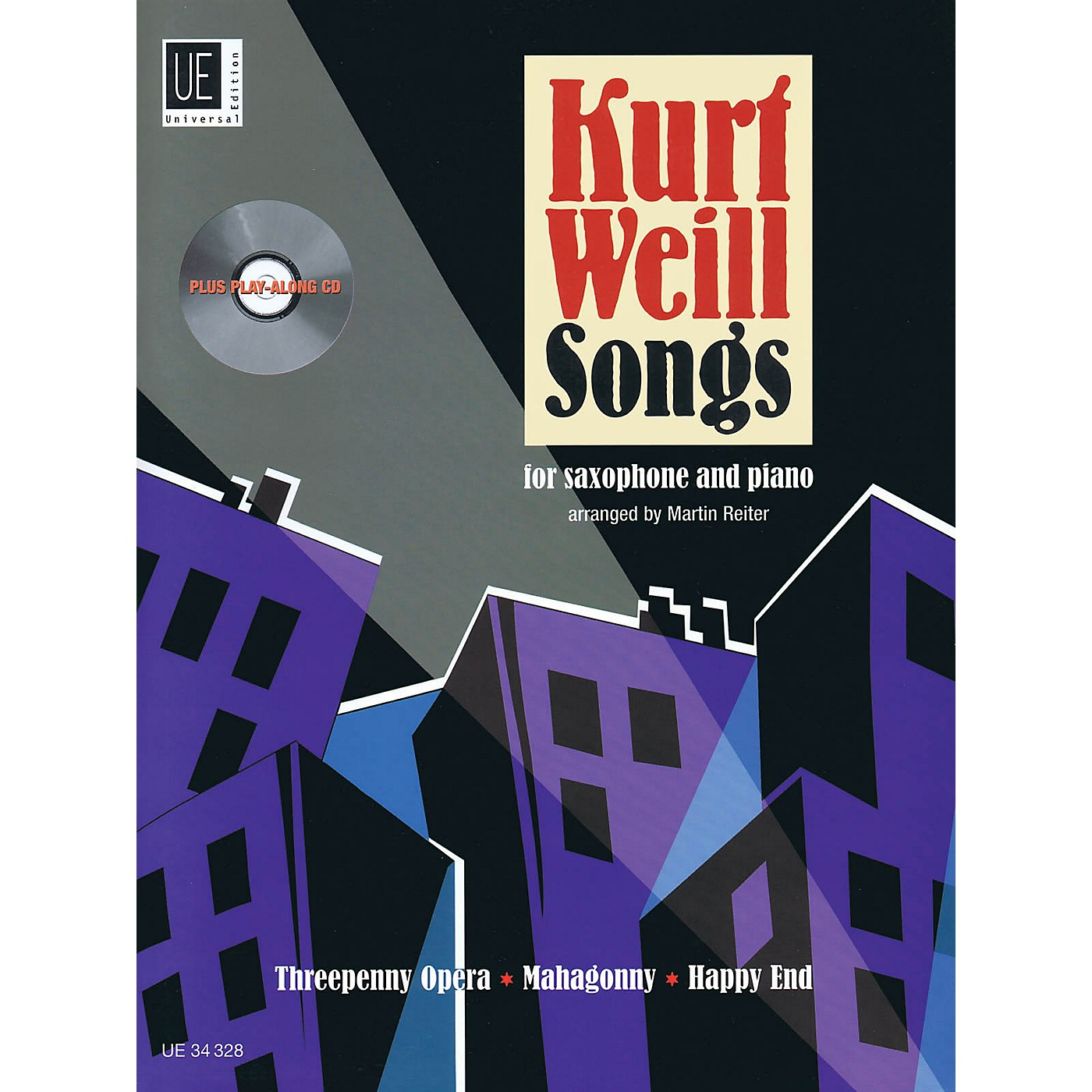 Universal Edition Kurt Weill Songs Woodwind Series Book with CD thumbnail