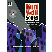 Universal Edition Kurt Weill Songs Woodwind Series Book with CD