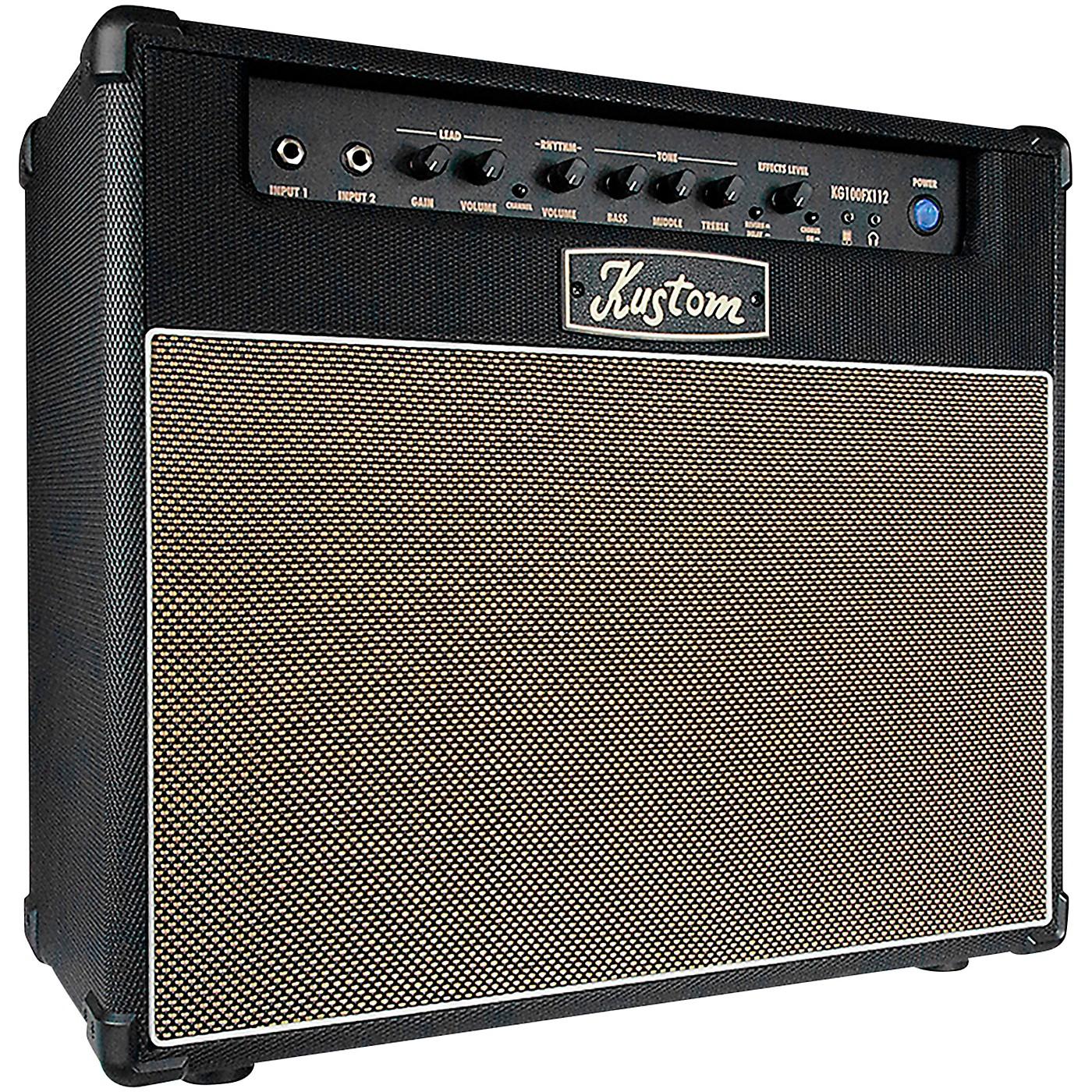 Kustom Kustom KG100FX112 100-Watt 1x12 Guitar Combo Amplifier thumbnail
