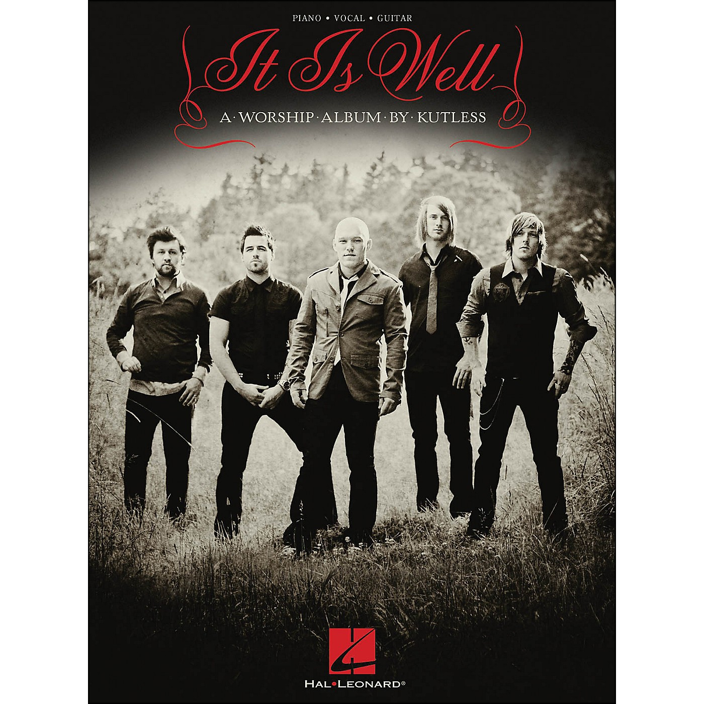 Hal Leonard Kutless - It Is Well arranged for piano, vocal, and guitar (P/V/G) thumbnail