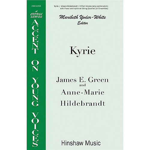 Hinshaw Music Kyrie 3 Part composed by James E. Green thumbnail