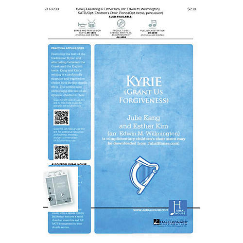 Jubal House Publications Kyrie BRASS/PERCUSSION PARTS Composed by Edwin Willmington thumbnail