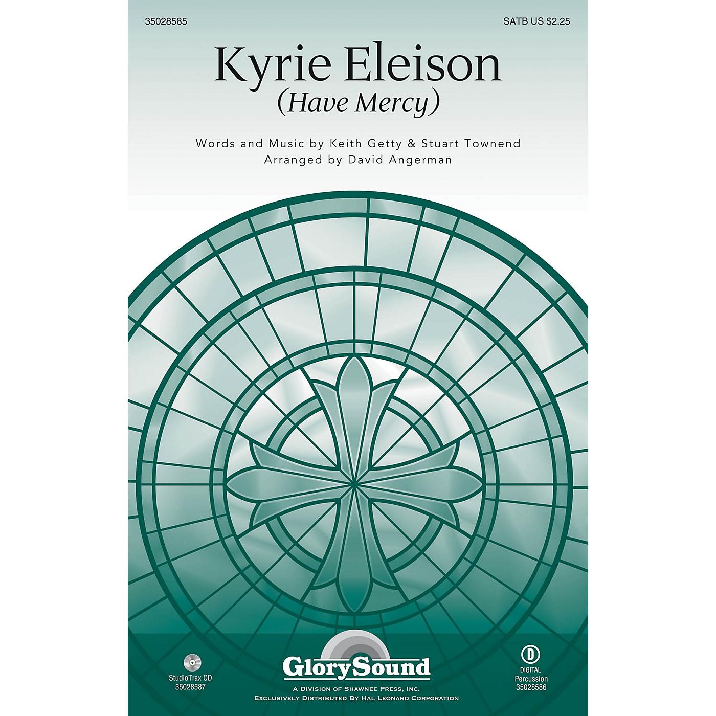 Shawnee Press Kyrie Eleison (Have Mercy) SATB arranged by David Angerman thumbnail