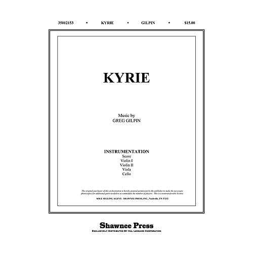 Shawnee Press Kyrie Score & Parts composed by Greg Gilpin thumbnail