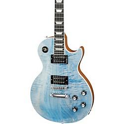Gibson 2018 Limited Run Les Paul Signature Player Plus Electric Guitar Ocean Blu -  LPSNPP18FUCH1