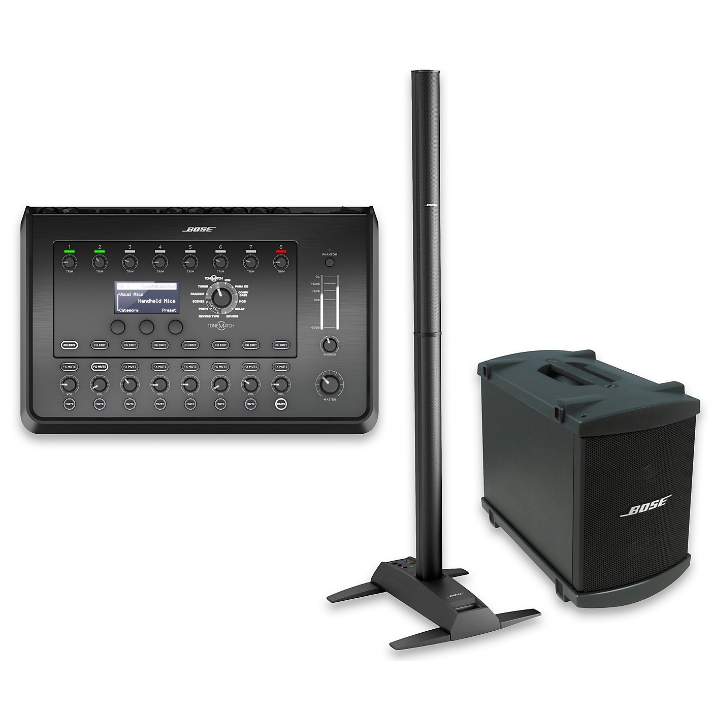 Bose L1 Model II System with Dual B1 Bass Module and T8S Audio Engine thumbnail