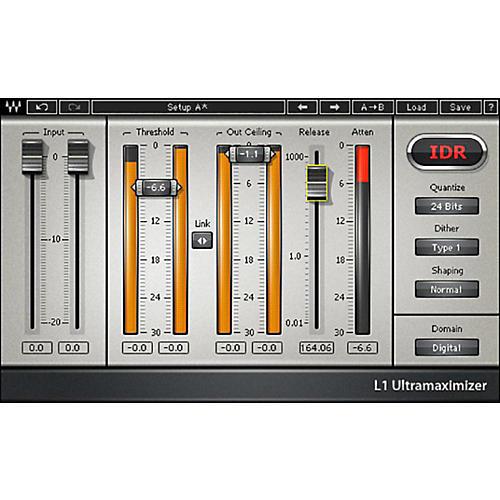 Waves L1 Ultramaximizer Native/TDM/SG Software Download thumbnail