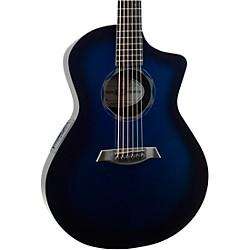 Composite Acoustics OX Acoustic-Electric Guitar Blue