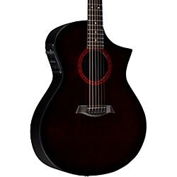Composite Acoustics GX Acoustic-Electric Guitar Wine Red Burst