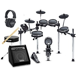 Alesis Surge Mesh Kit Complete Electronic Drum Set with DA50 Amp