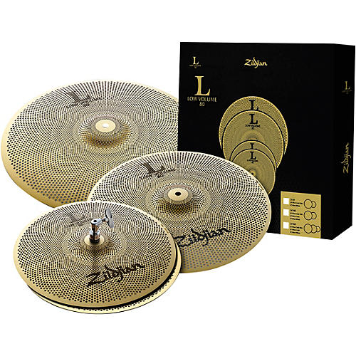 Zildjian L80 Series LV468 Low Volume Cymbal Box Set thumbnail