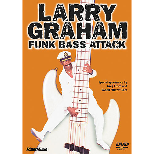 Rittor Music LARRY GRAHAM - FUNK BASS ATTACK DVD thumbnail