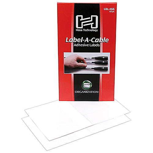 Hosa LBL-466 Label-A-Cable (60 Pack) thumbnail