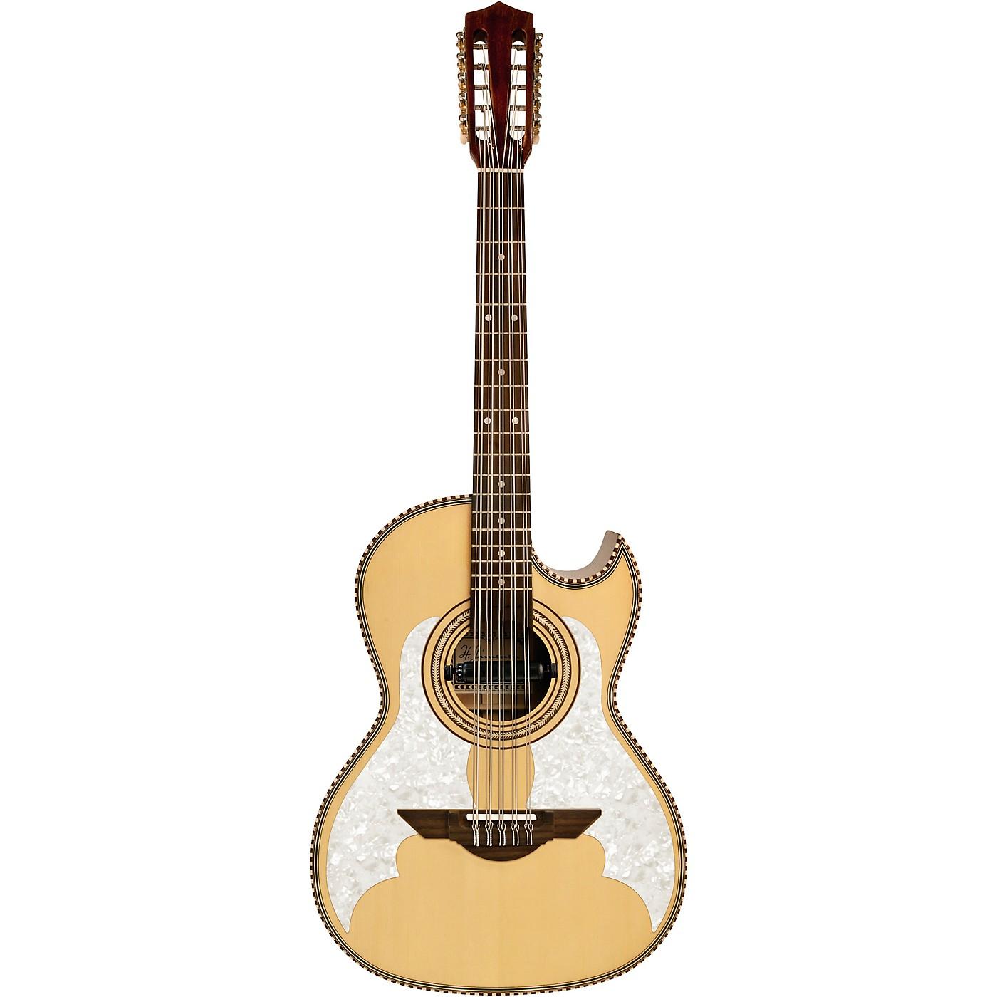 H. Jimenez LBQ3TLE H Jimenez Bajo Quinto Acoustic-Electric El Murcielago Series thumbnail