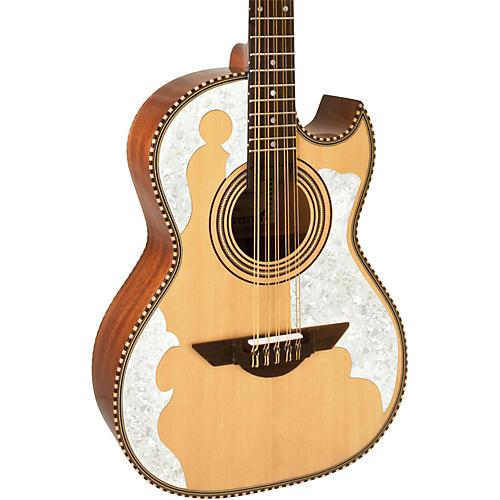 H. Jimenez LBQ4 El Patron (The Master) Bajo Quinto Acoustic Guitar thumbnail