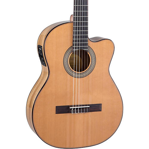 Lucero LC235SCE Acoustic-Electric Exotic Wood Classical Guitar thumbnail