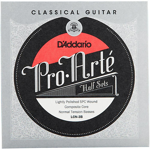 D'Addario LCN-3B Pro-Arte Normal Tension Classical Guitar Strings Half Set thumbnail