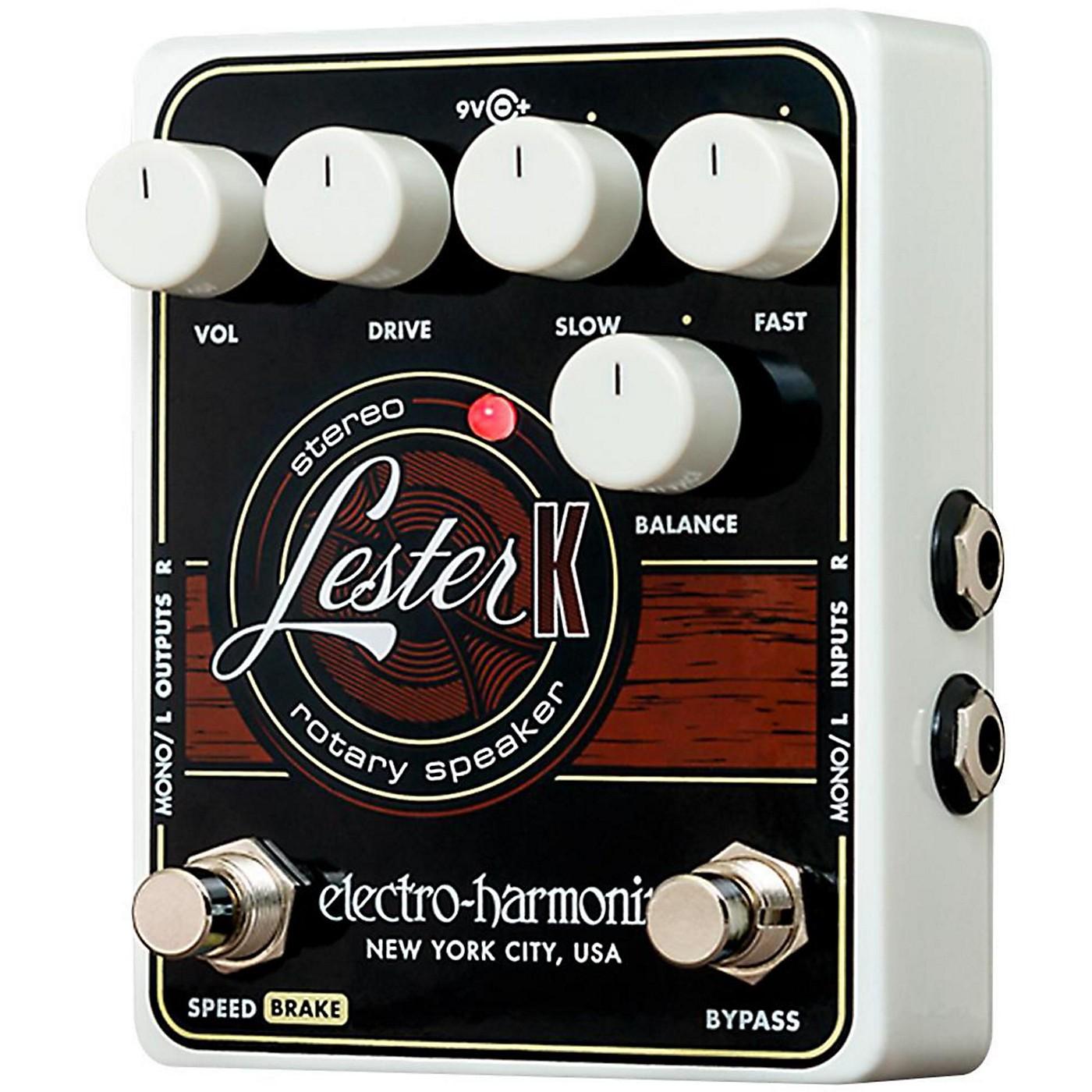 Electro-Harmonix LESTER-K Stereo Rotary Speaker Pedal thumbnail