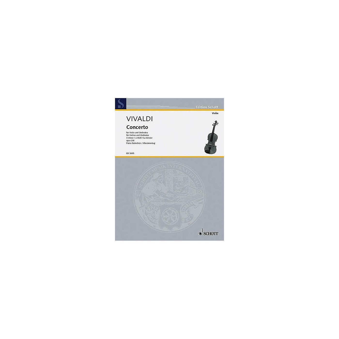 Schott L'Estro Armonico (RV 356/PV 1) Schott Series Composed by Antonio Vivaldi Arranged by Gustav Lenzewski thumbnail