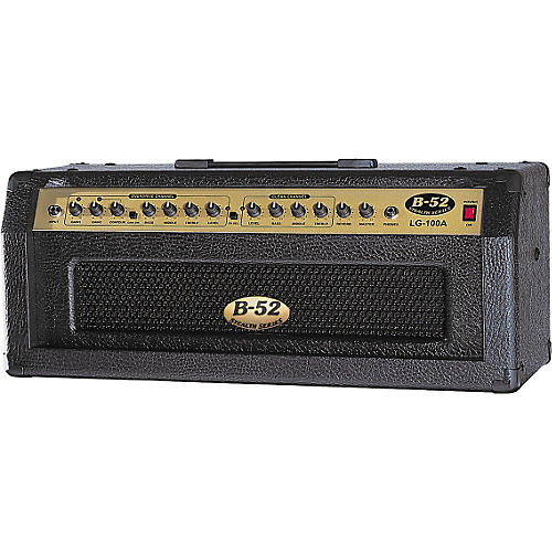 B-52 LG-100A 100W Solid State Guitar Amp Head thumbnail