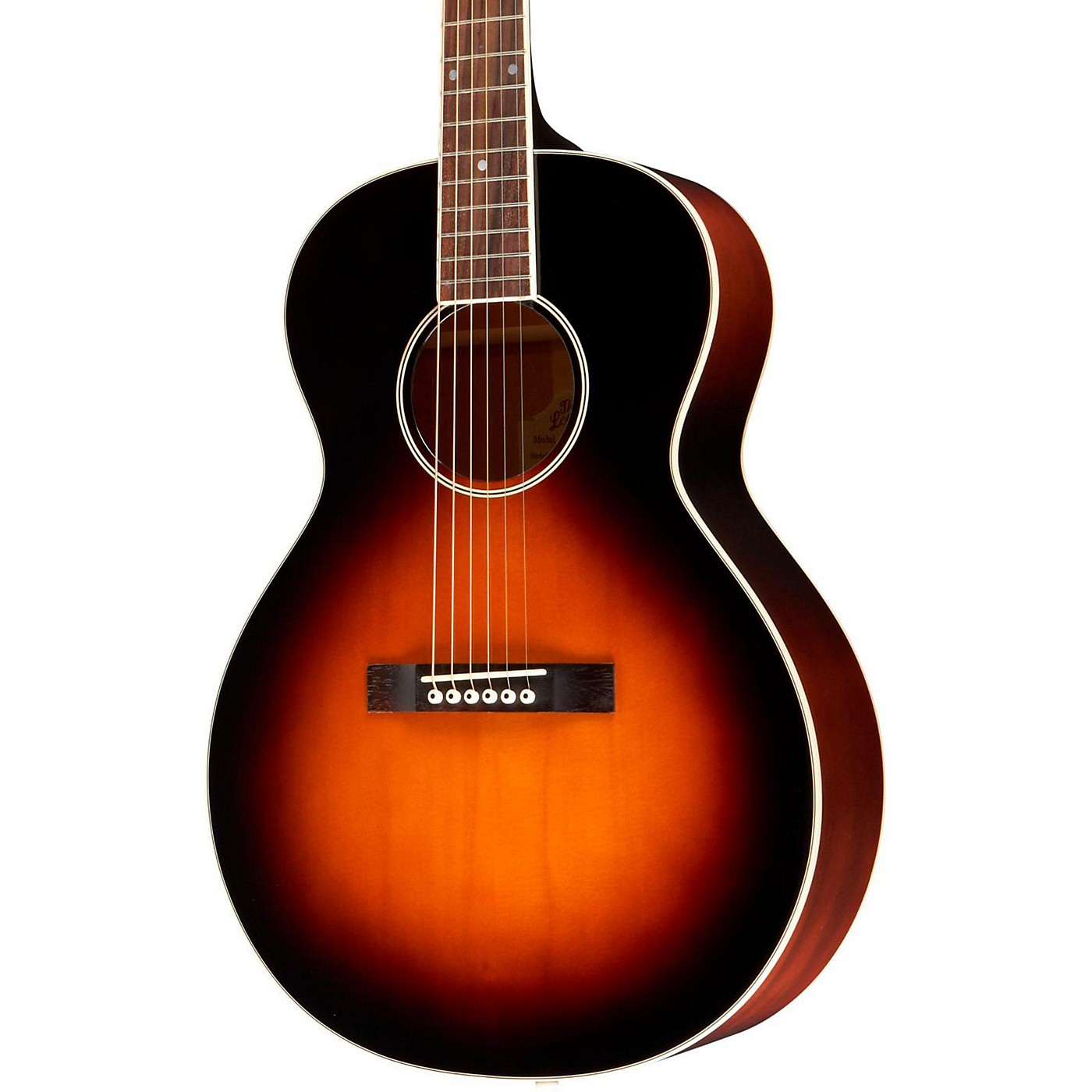The Loar LH-250 Small Body Acoustic Guitar thumbnail