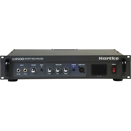 Hartke LH Series LH500 500 Watt Hybrid Bass Amp Head thumbnail