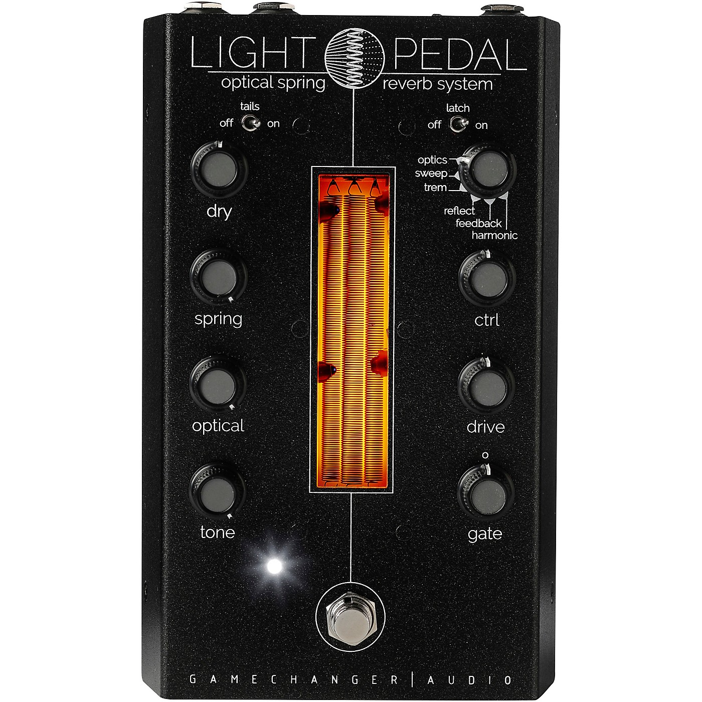 Gamechanger Audio LIGHT Analog Optical Spring Reverb Effects Pedal thumbnail