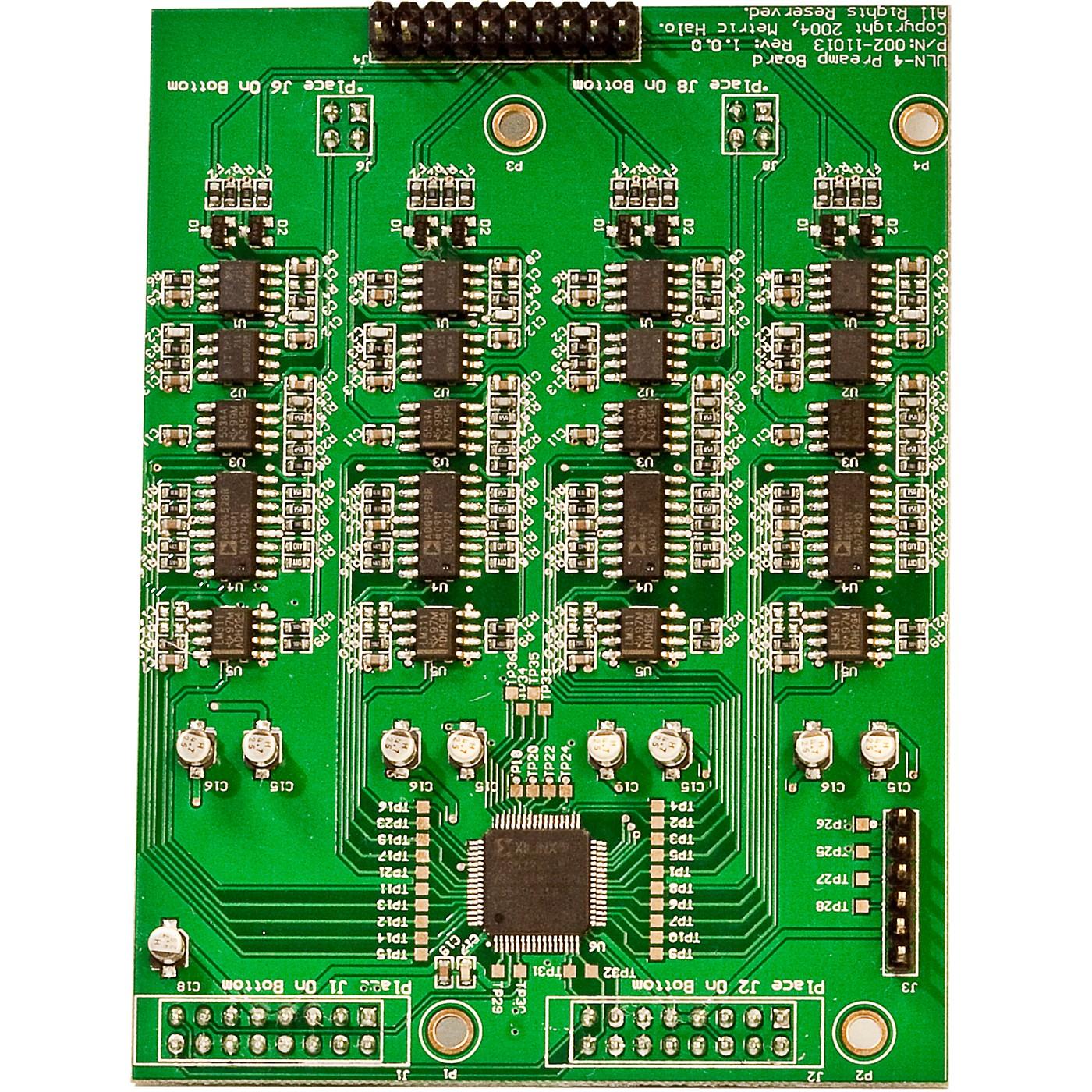 METRIC HALO LIO-8 4 Channel (5-8) ULN-R Preamp Kit thumbnail