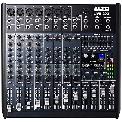 Alto LIVE 1202 12-Channel 2-Bus Mixer thumbnail