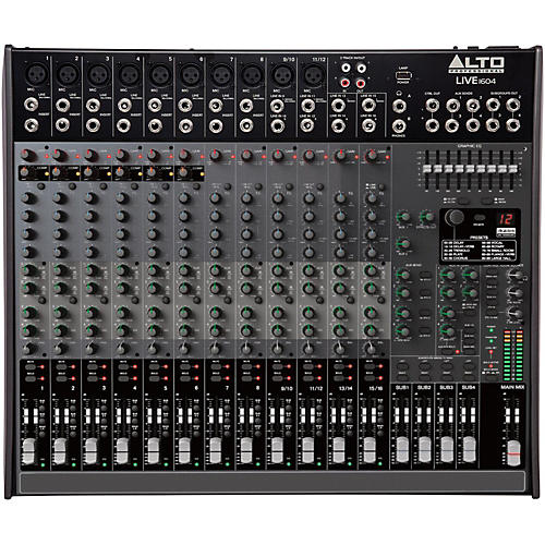 Alto LIVE 1604 16-Channel 4-Bus Mixer thumbnail