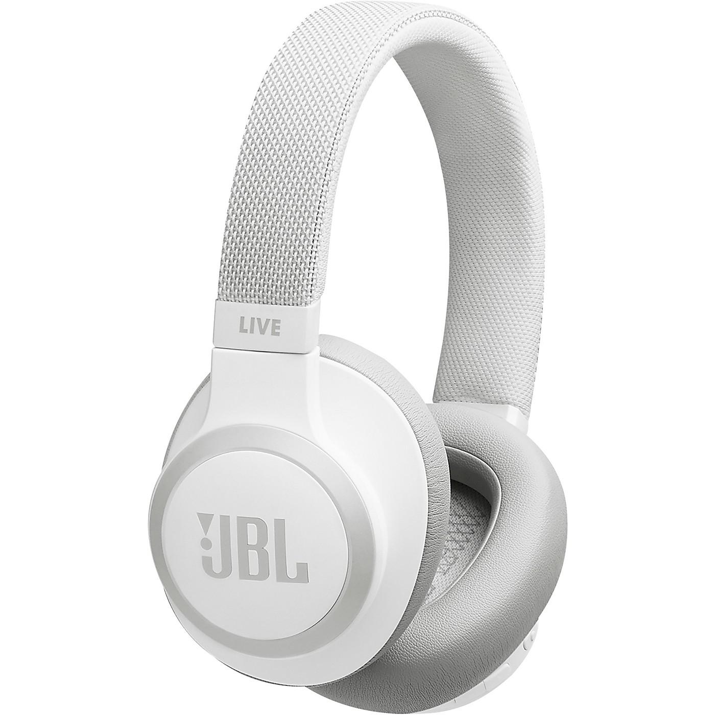 JBL LIVE 650BTNC Wireless Over-Ear Noise-Cancelling Headphones thumbnail