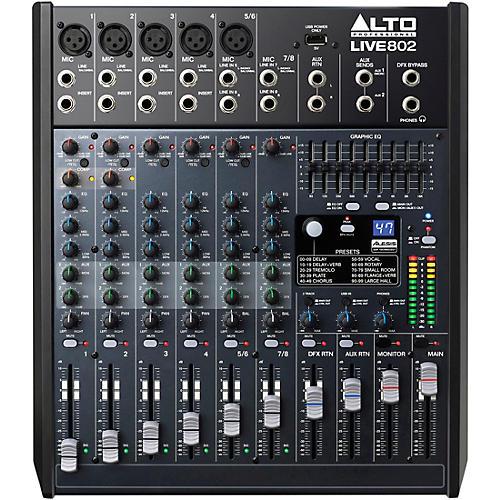 Alto LIVE 802 8-Channel 2-Bus Mixer thumbnail
