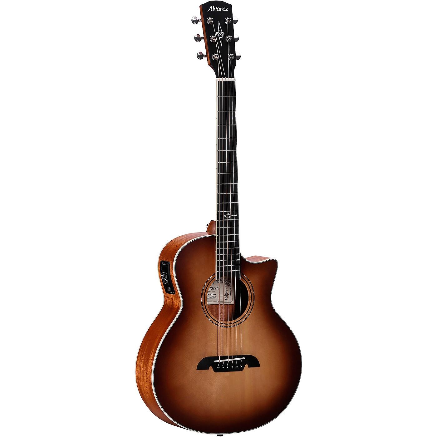 Alvarez LJ2CE Artist Little Jumbo Acoustic-Electric Guitar thumbnail