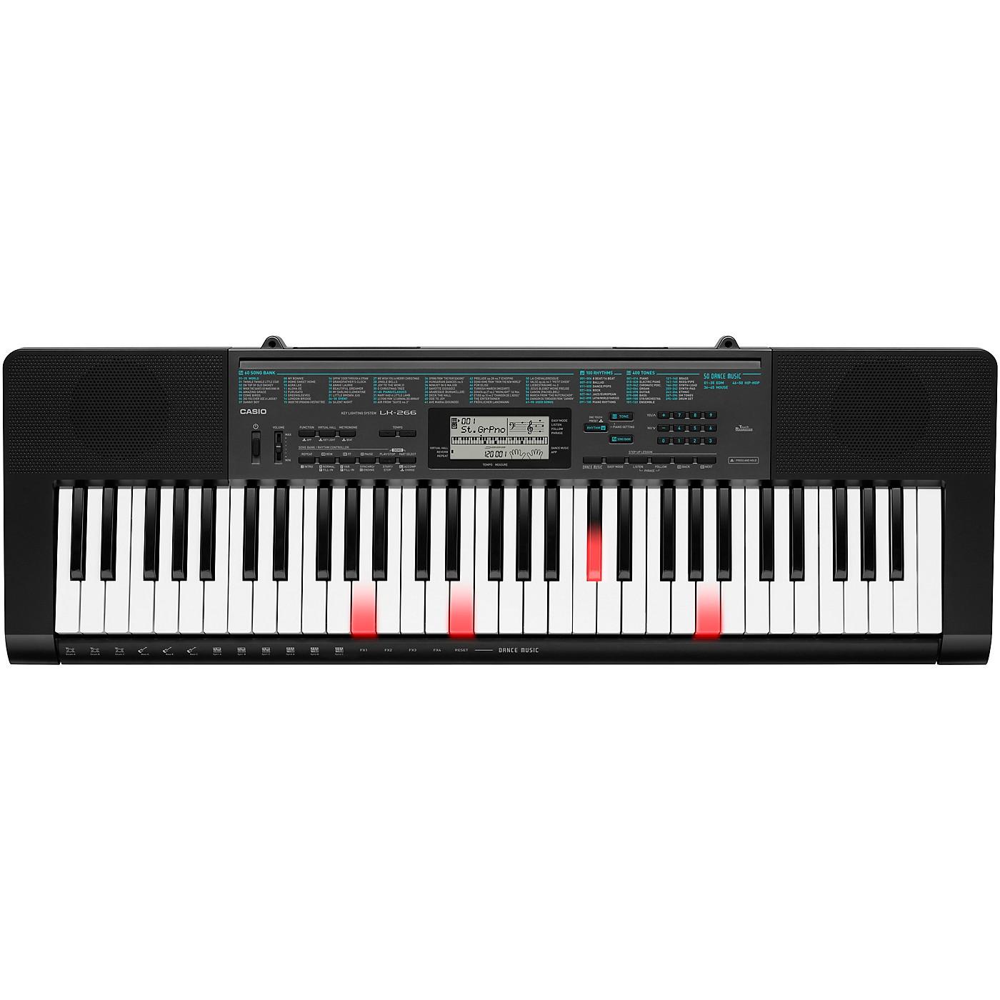 Casio LK-266 Lighted Key Portable Keyboard thumbnail