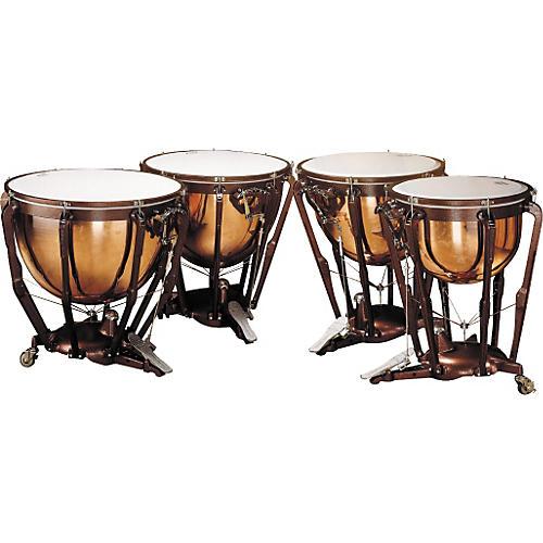 Ludwig LKP504PG Professional Polished Copper Timpani Set thumbnail