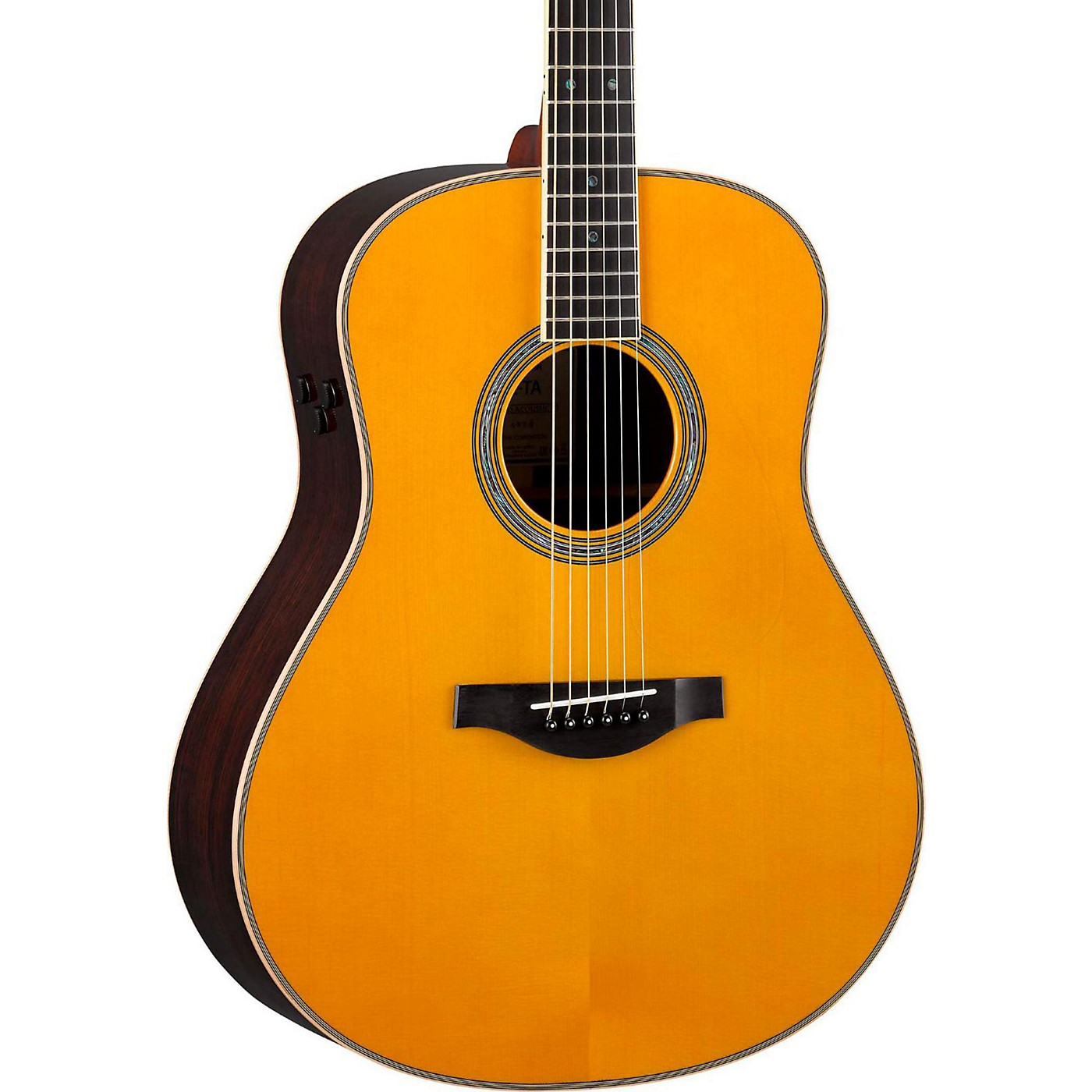 Yamaha LL-TA TransAcoustic Jumbo Concert Acoustic-Electric Guitar thumbnail