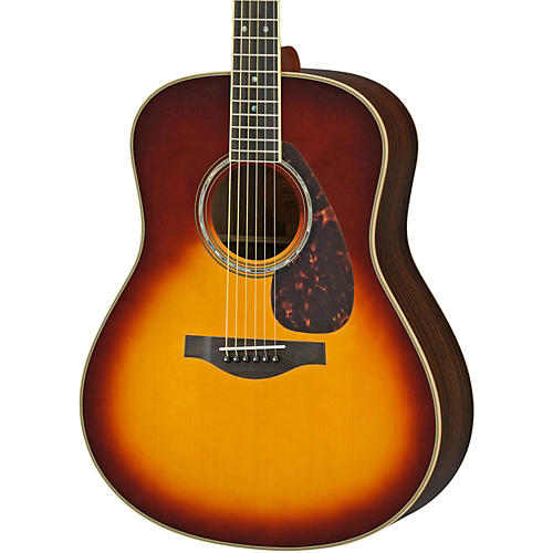 Yamaha LL16R L Series Solid Rosewood/Spruce Dreadnought Acoustic-Electric Guitar thumbnail