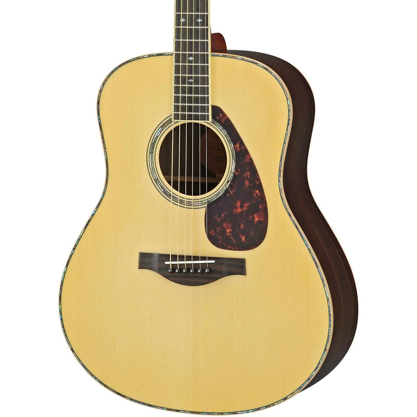 Yamaha LL16RD L Series Solid Rosewood/Spruce Dreadnought Acoustic-Electric Guitar thumbnail