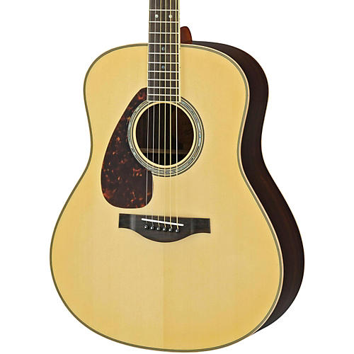 Yamaha LL16RL L Series Solid Rosewood/Spruce Dreadnought Left-Handed Acoustic-Electric Guitar thumbnail