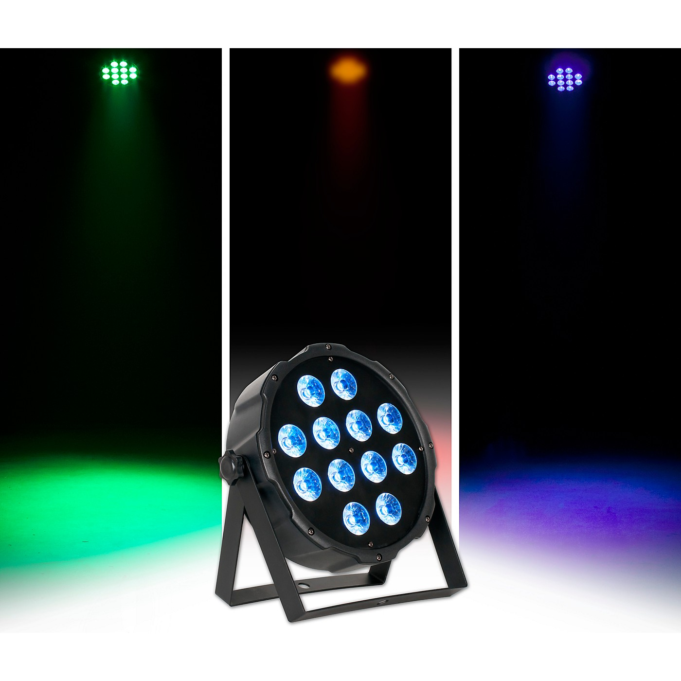 Eliminator Lighting LP 12 HEX RGBWA+UV LED PAR Wash Light thumbnail